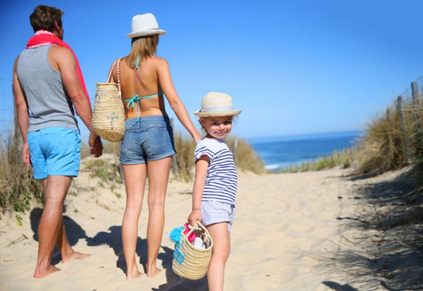 famille-plage